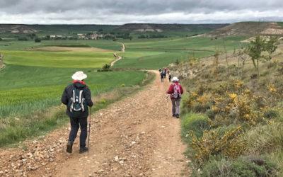 """Témoignage sur le pélé diocésain """"Marche spirituelle vers Compostelle"""", du 8 au 18 mai 2017"""